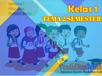 Soal Penilaian Harian Tema 2 Kelas 1 SD/MI Kunci Jawaban dan Kisi-Kisi Soal Kurikulum 2013, Terkini