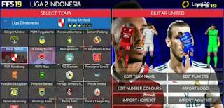 Download FTS 19 Mod Liga Indonesia 2018 Update V3 (Full Transfer)