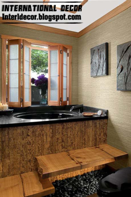 Asian Style Bathroom Decor: How To Create Japanese Style Bathroom, Top Rules