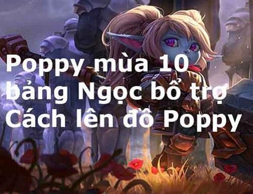 Cách trạng bị Poppy
