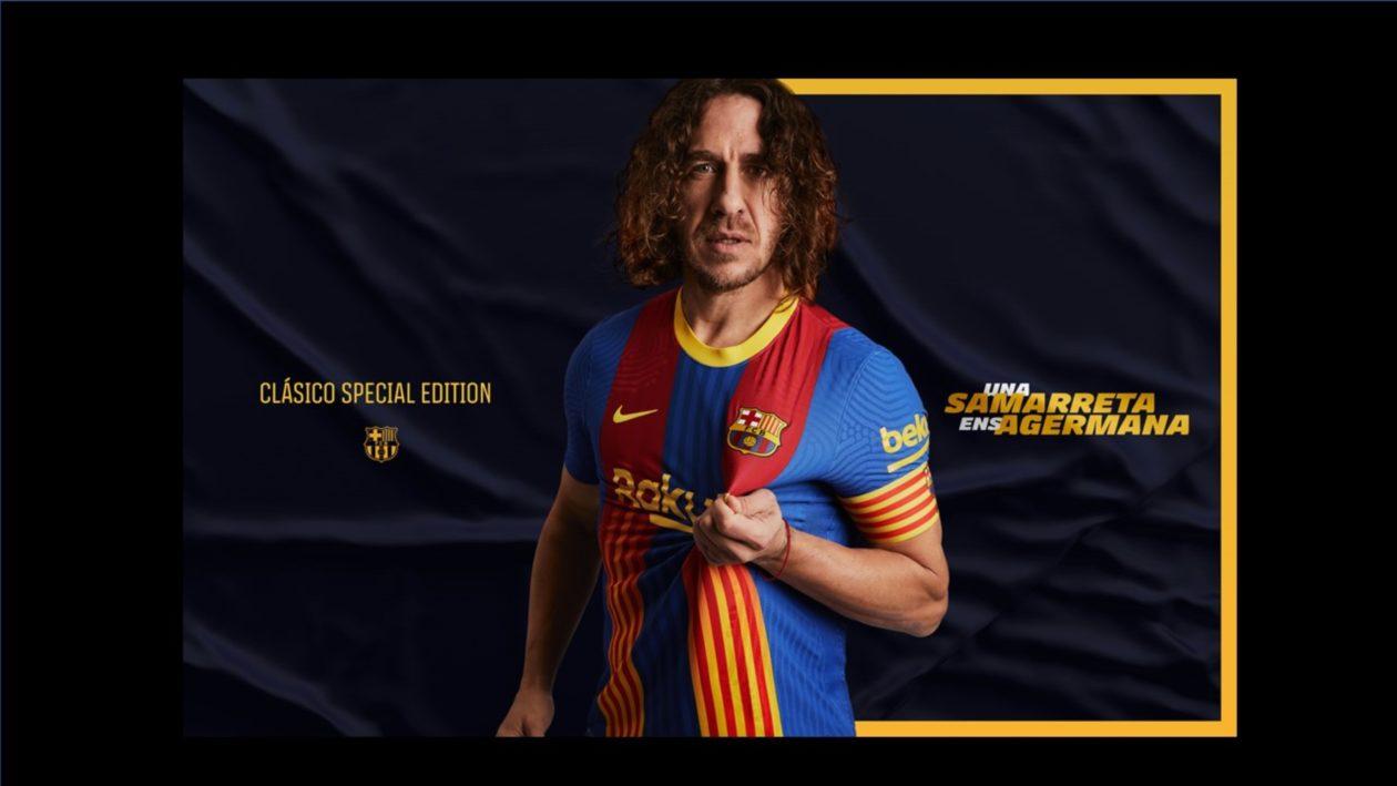 Barcelona Launch Special Edition El Clasico Shirt