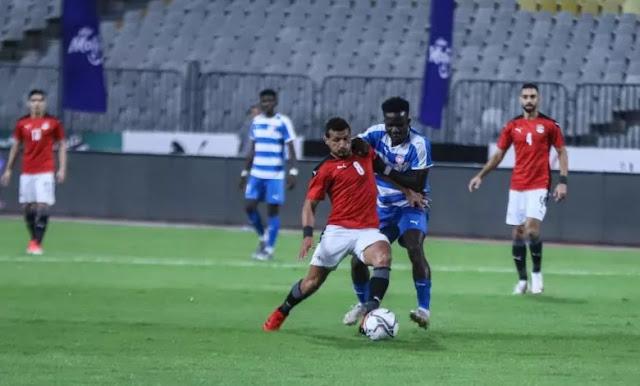 ملخص اهداف مباراة مصر وليبيريا (2-0) مباراة ودية