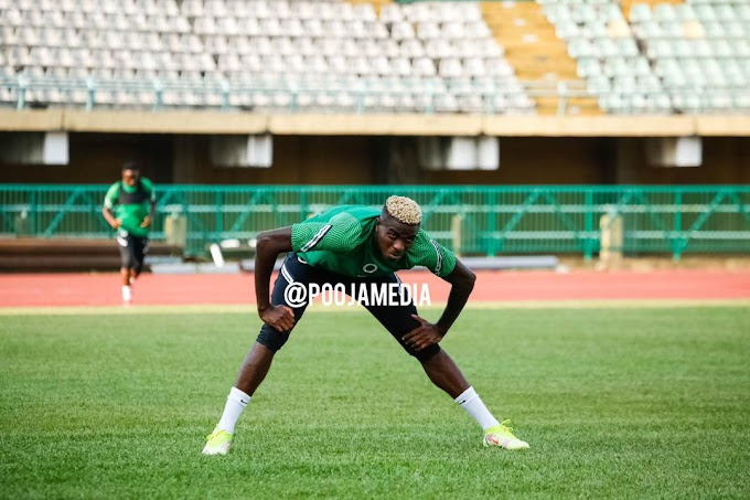 Osimhen: Super Eagles' Target Is To Secure The World Cup Ticket