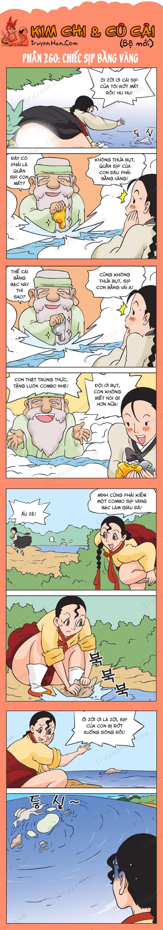 Kim Chi Và Củ Cải phần 260: Chiếc sịp bằng vàng