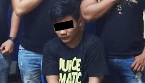 Pelaku Penikaman di Pasar 45 Langsung Diamankan Polres Manado usai Kejadian