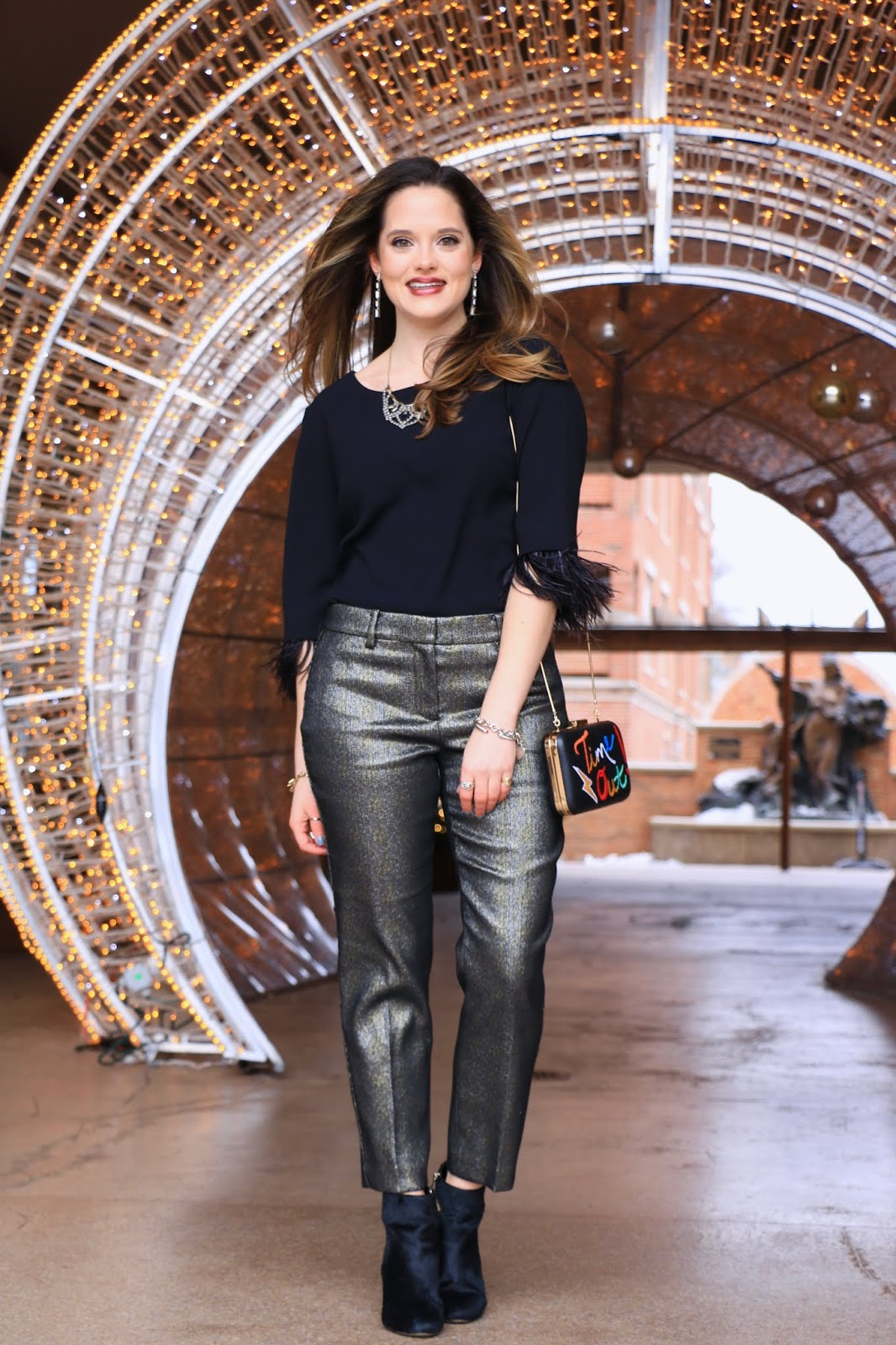 Nyc fashion blogger Kathleen Harper's New Year's Eve outfit ideas