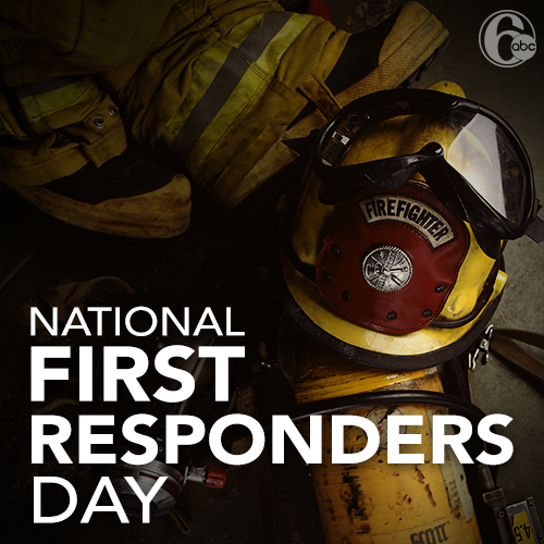 National First Responders Day Wishes