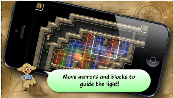 The Best Iphone Ipad Puzzle Apps And Mechanical Puzzles Guide The Light Puzzle Game App For Iphone Ipad