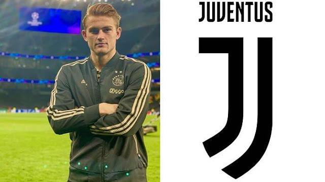 Matthijs de Ligt Pindah Ke Juventus Tinggal Menunggu Waktu