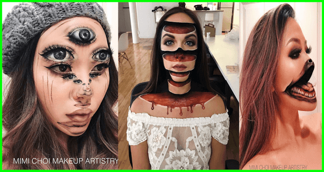 Gives Up Teaching To Create Optical Illusions With Makeup And Its