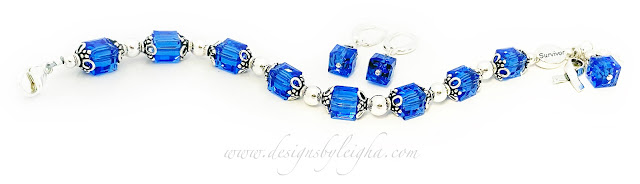 Blue Ribbon Survivor Bracelet