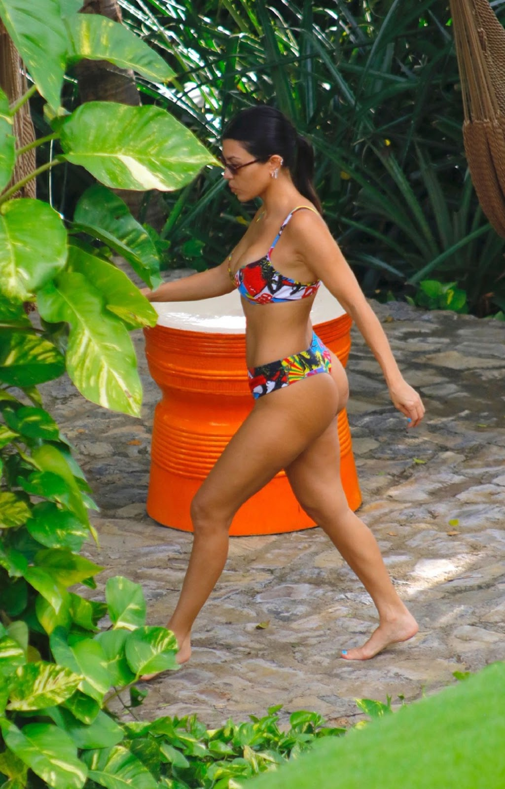 Kourtney Kardashian in Bikini on Vacation in Costa Rica