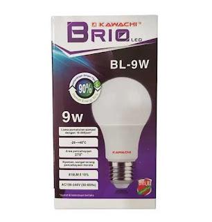 Kawachi Brio LED Bulbs 9 watt