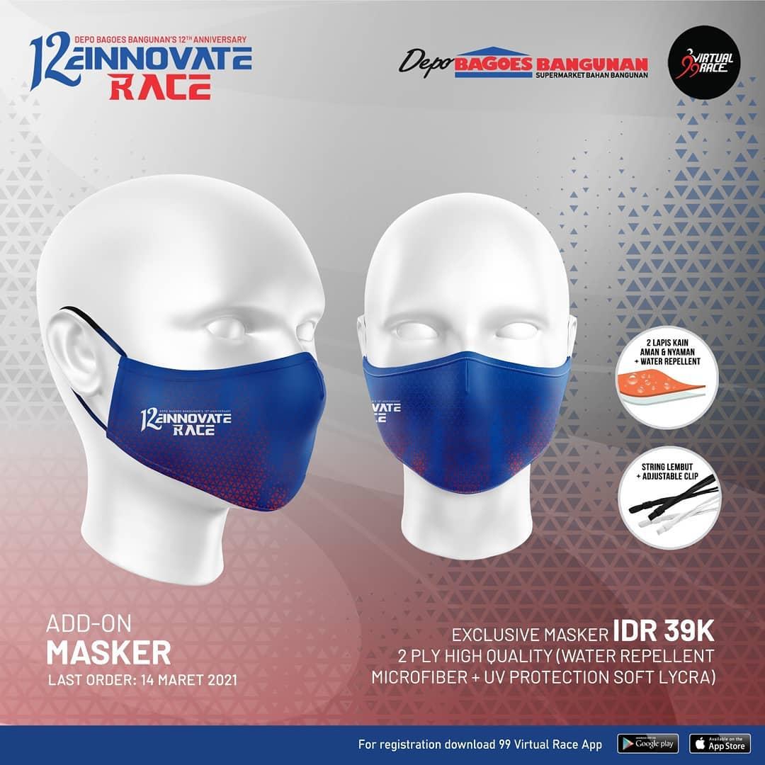 Masker 😷 12einnovate Race • 2021