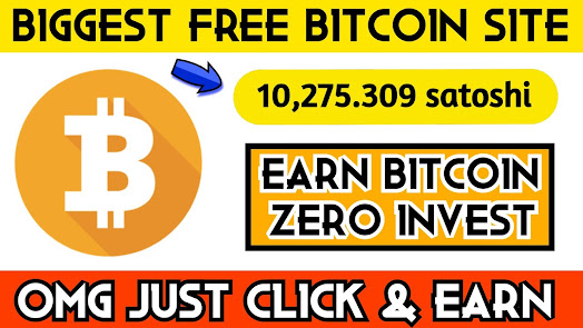 No investment No work Free bitcoin eraning site ,Legit bitcoin earning site,