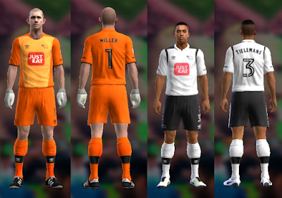 PES 2013 Derby County 2016/17 kits by vladroman