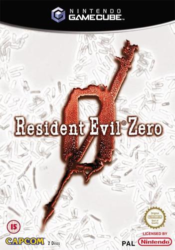 resident evil zero jaquette
