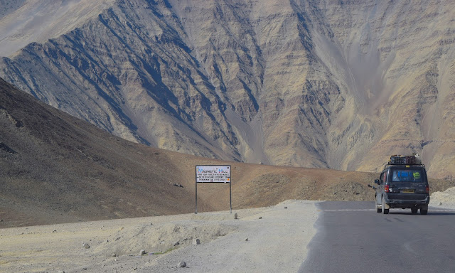 The Gravity hill of Leh