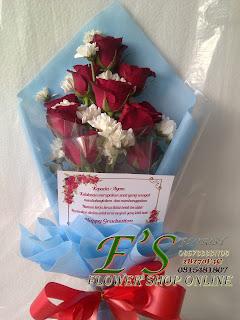 hadiah bunga kelulusan