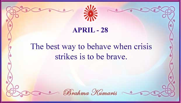 Thought For The Day April 28