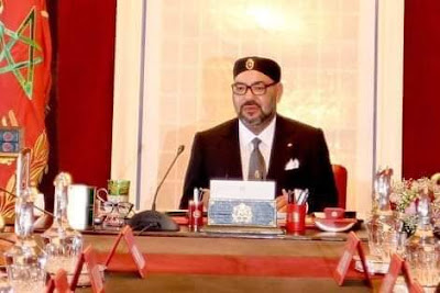 برقية تعزية من الملك محمد السادس نصره الله إلى أسرة المرحوم الصحفي مصطفى العلوي