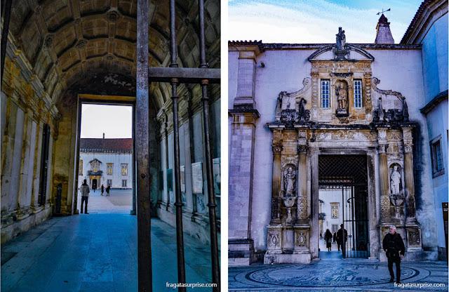 A Porta Férrea, entrada cerimonial da Universidade de Coimbra