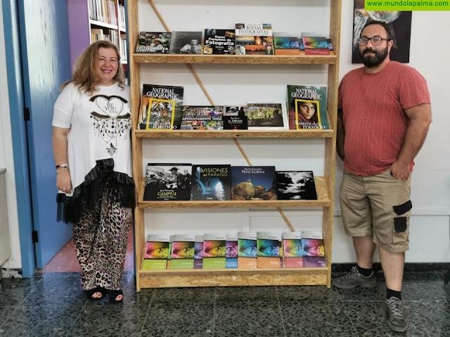 Una treintena de libros sobre fotografía se suma a la oferta literaria de Los Llanos de Aridane