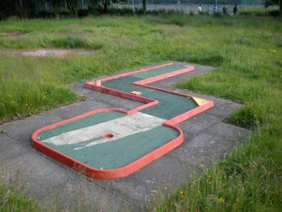 Crazy Golf course at Exhibition Park