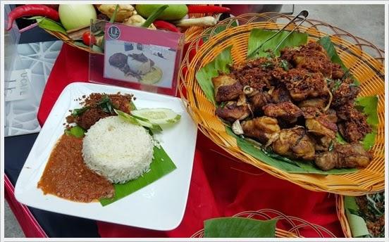 Nasi Kukus Rempah Chicken RM3