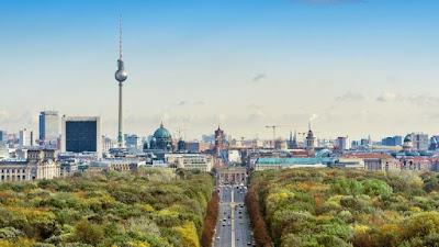 Berlin Aerial photo by shutterstock