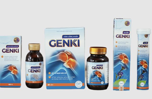 Viên uống xương khớp Genki là gì