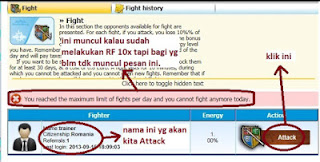 How to Referal Fight on MarketGlory 2