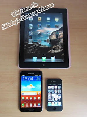 samsung galaxy note compare ipad size