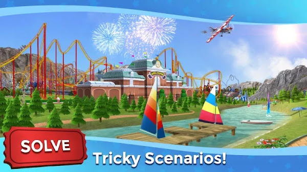 RollerCoaster Tycoon Touch (MOD, Unlimited Currency)