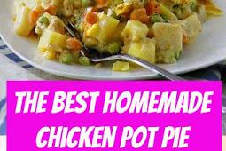 The BEST Homemade Chicken Pot Pie #chicken #potpie #pie #comfortfood