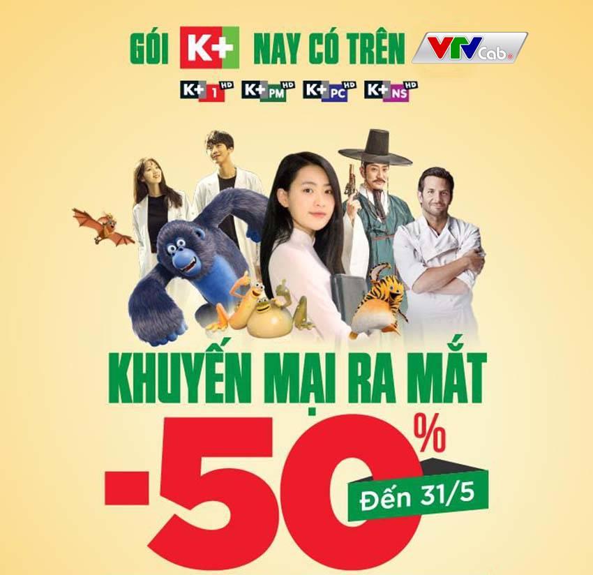 Nhóm kênh Truyền hình K+ trên VTVCab - ảnh