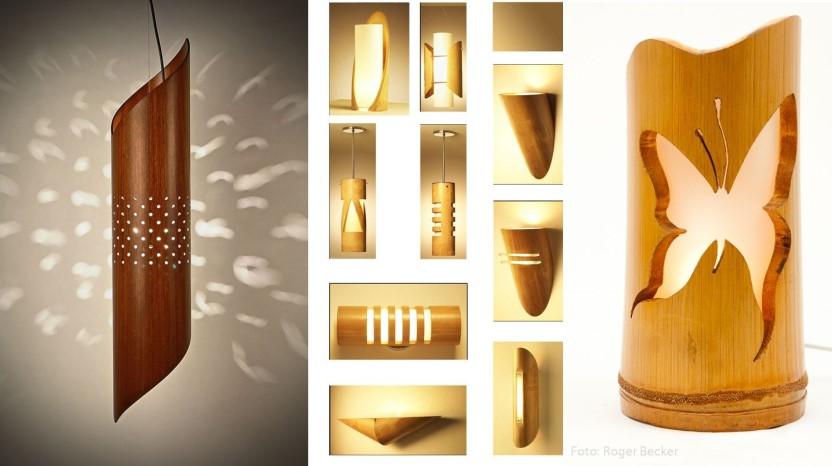 Kumpulan Desain Lampu Hias Dari Bambu Untuk Dekorasi Rumah