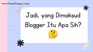 Kenapa jadi blogger, alasan menjadi blogger, seperti apa asiknya menjadi blogger, mengapa harus menjadi blogger, tulisan berbayar blogger, cara kerjasama dengan blogger,