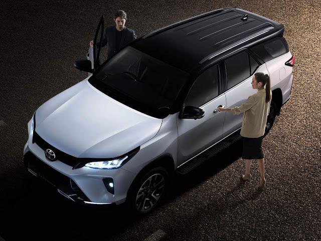 Novo Toyota Hilux SW4 2021