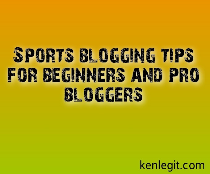 Sports blogging tips for beginners and pro bloggers