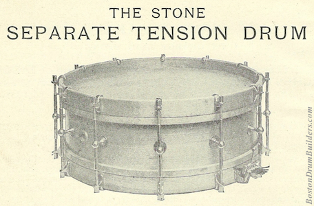 Geo. B. Stone & Son Separate Tension Drum
