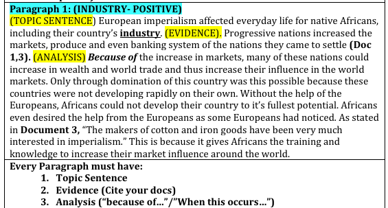 sample 2012 ap entire world history dbq essay