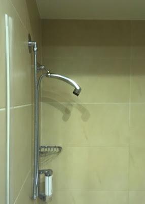 Hotel Afrodyta w Radziejowicach, bateria prysznicowa