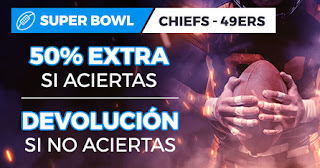 paston promocion super bowl chiefs vs 49ers 3 febrero 2020