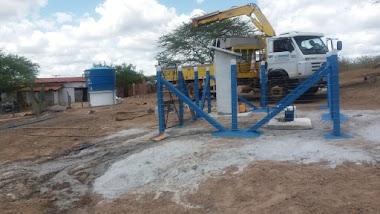Concluída a instalação de poço artesiano na localidade de Macambira