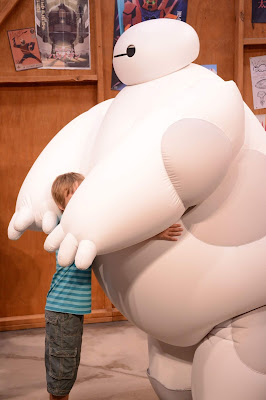Meeting Baymax at Epcot