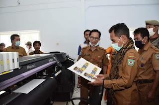 Walikota Bima Launching Alat Kemasan Senilai Rp1,6 Milyar
