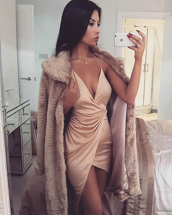 Fotitos tumblr con vestido divinas para imitar