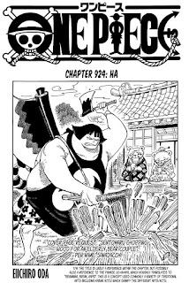 Update! Baca Manga One Piece Chapter 924 Full Sub Indo