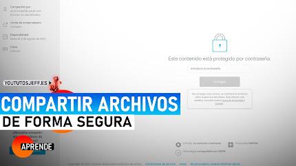 Compartir Archivos Pesados SIN PROGRAMAS